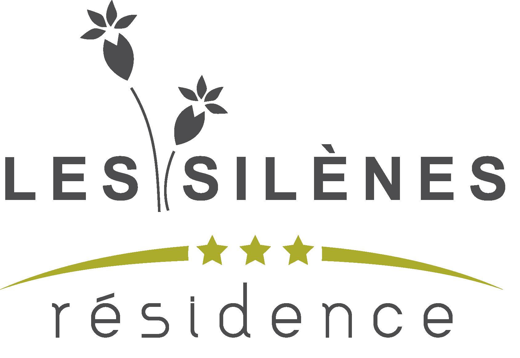 logo résidence les silènes