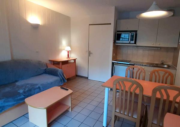 pièce à vivre appartement 103