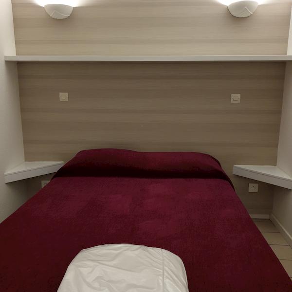 chambre à coucher appartement 105 les silènes