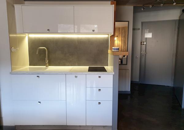 cuisine appartement n°407 résidence les silènes