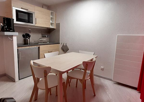 salle à manger appartement 415 allevard